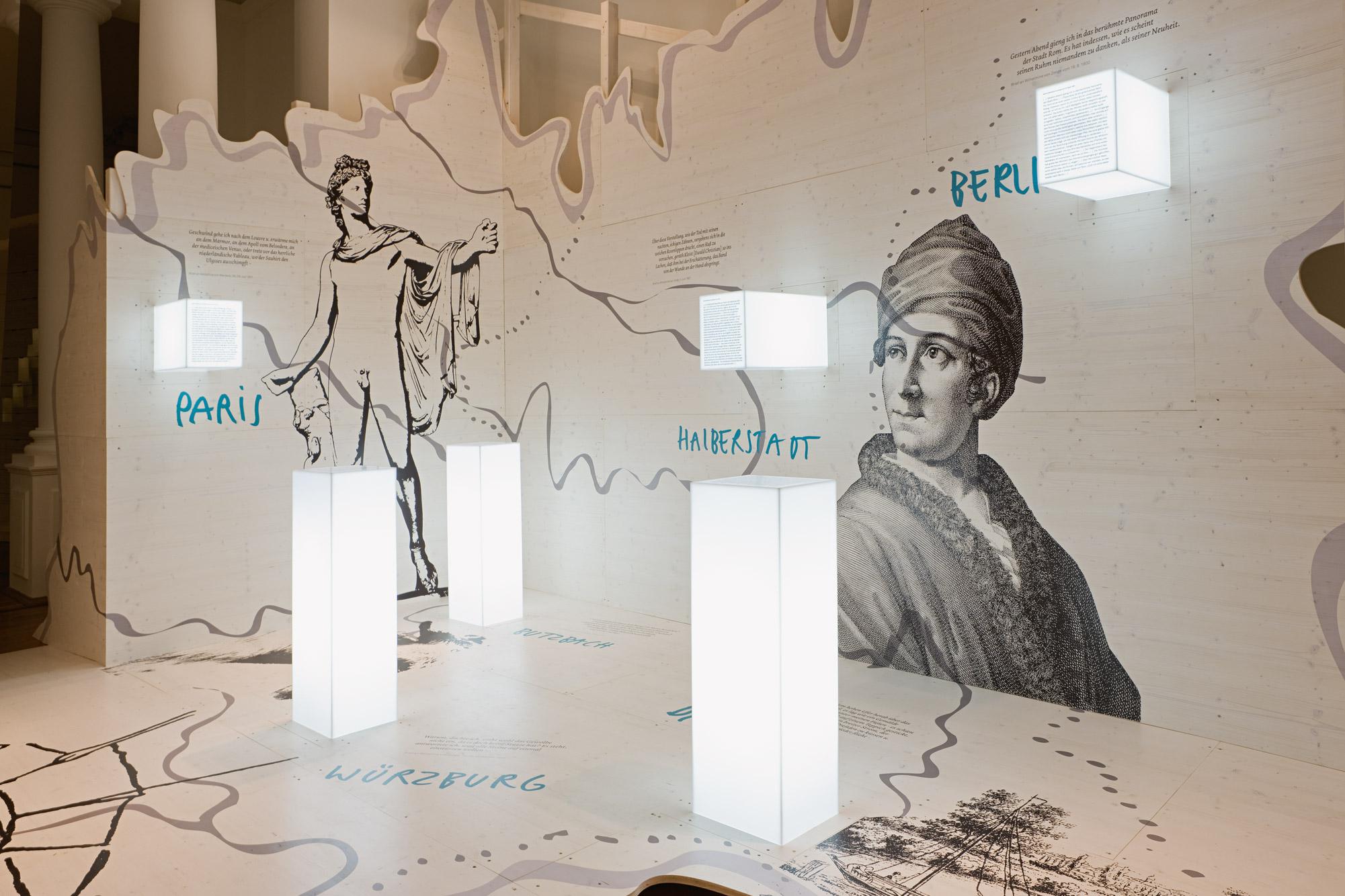 von GROTE Ausstellungsgestaltung und Design / Kleist: Krise und Experiment – Doppelausstellung in Berlin und Frankfurt (Oder)