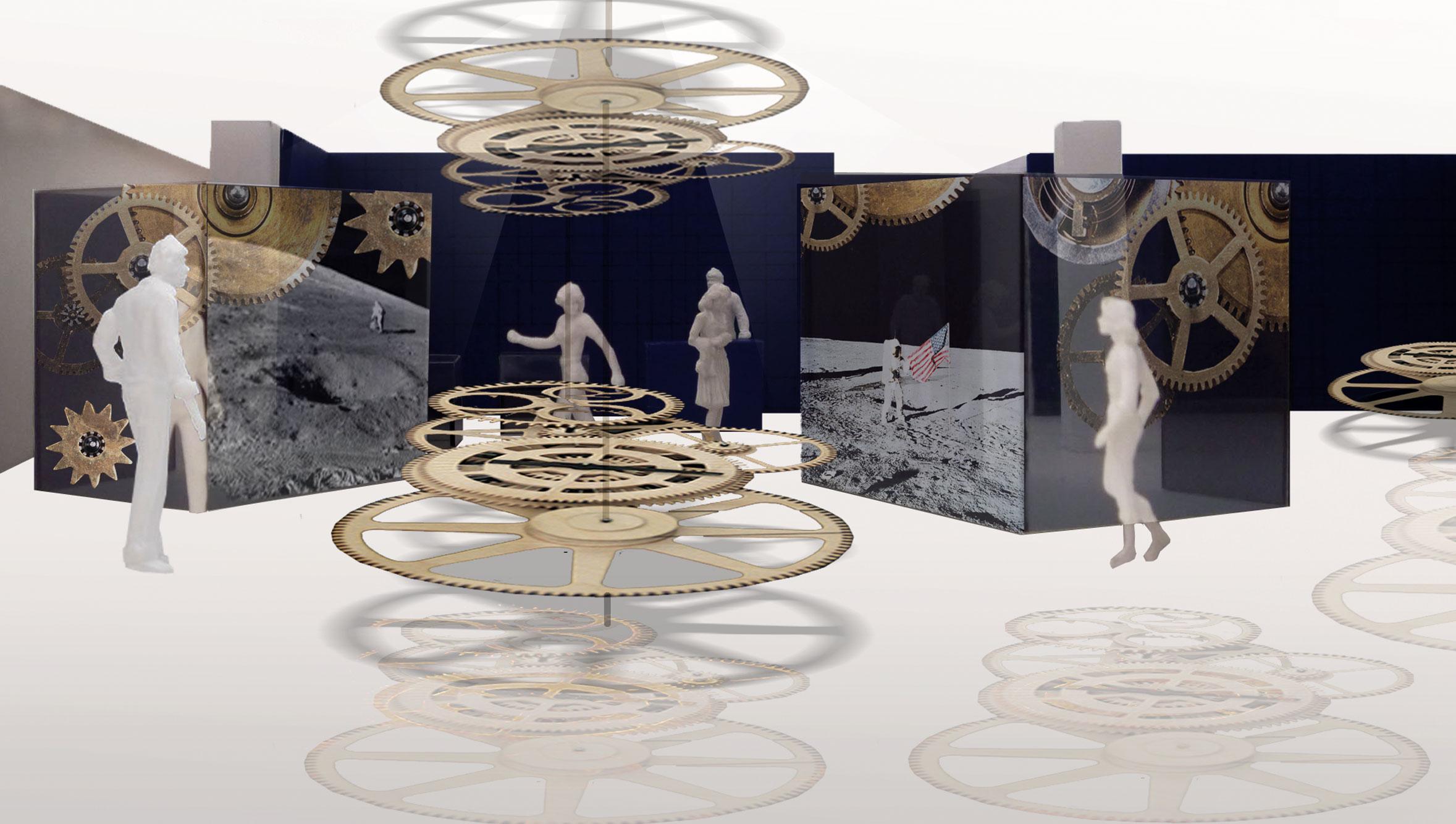 von GROTE Ausstellungsgestaltung und Design / Montblanc Flagshipstore Peking