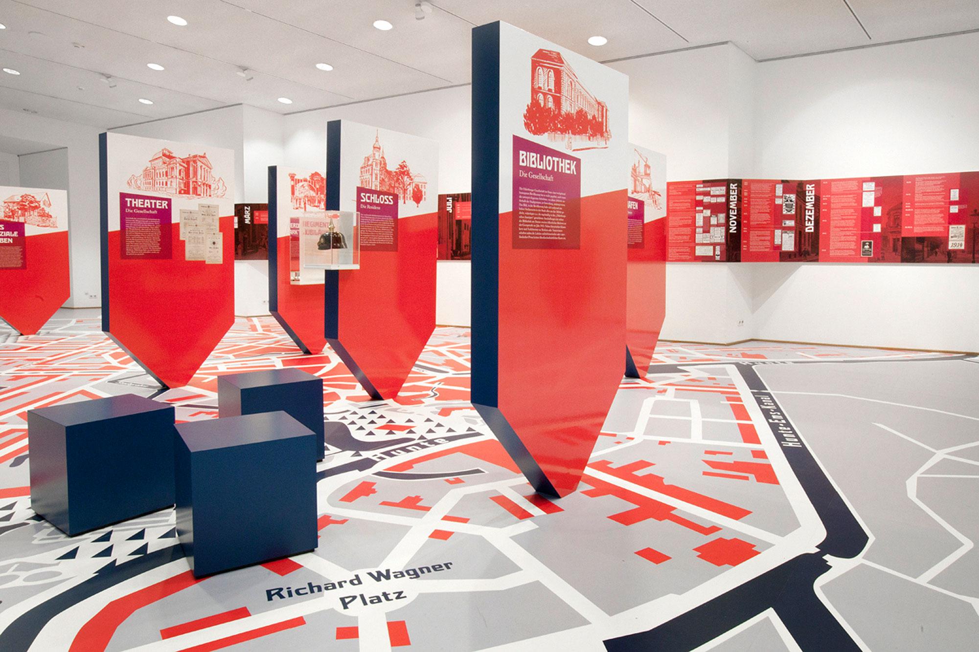 von GROTE Ausstellungsgestaltung und Design / Sehnsucht nach dem Krieg? Am Vorabend des Ersten Weltkriegs: Oldenburg 1913