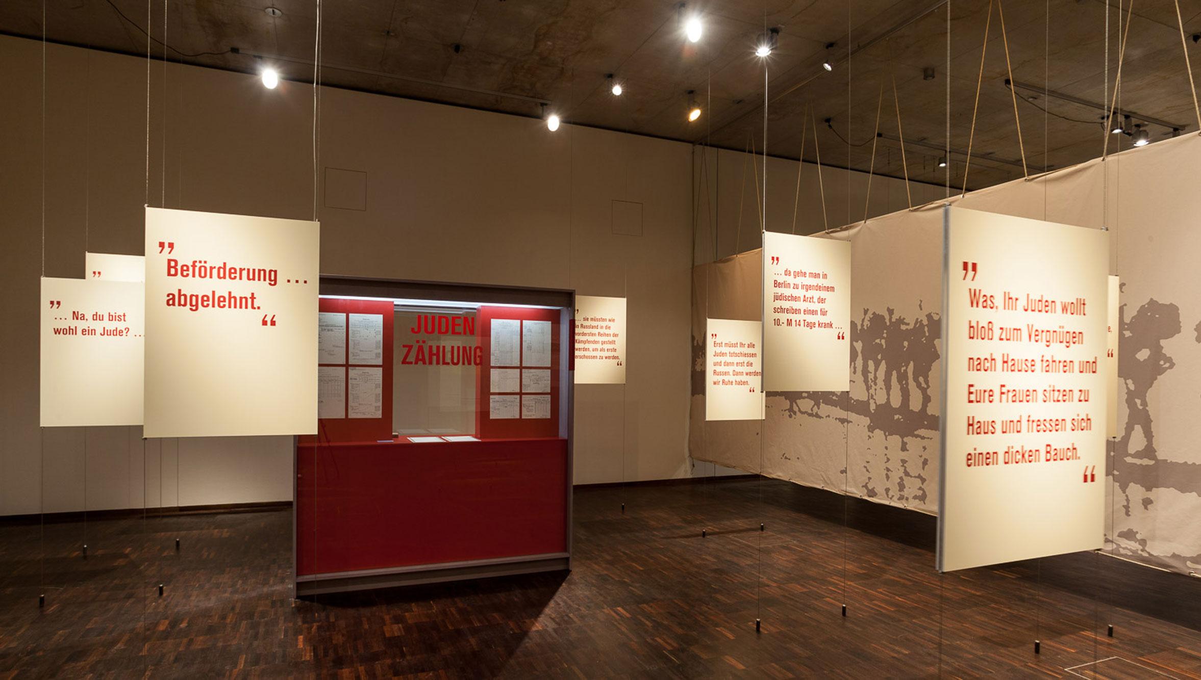 von GROTE Ausstellungsgestaltung und Design / Krieg! Juden zwischen den Fronten 1914-1918