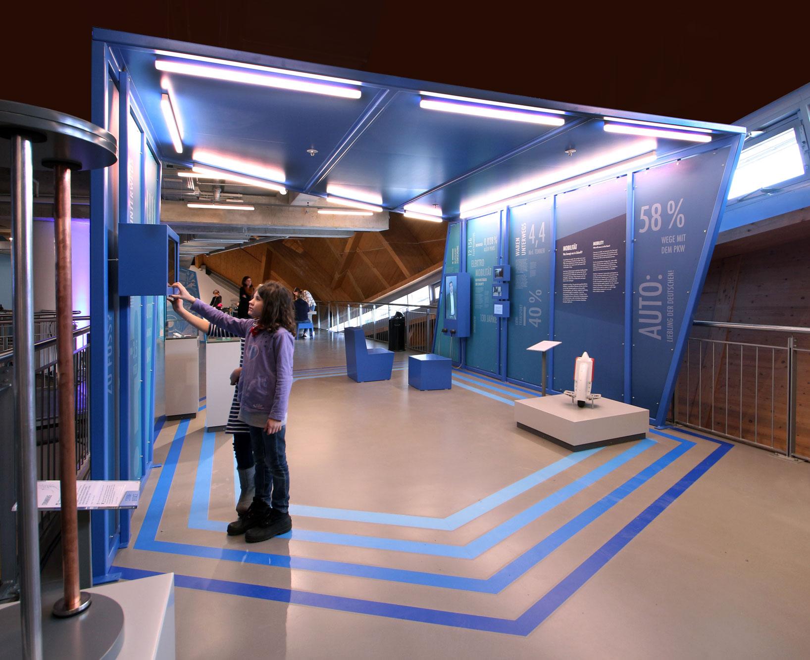 von GROTE Ausstellungsgestaltung und Design / Science Center Universum Bremen