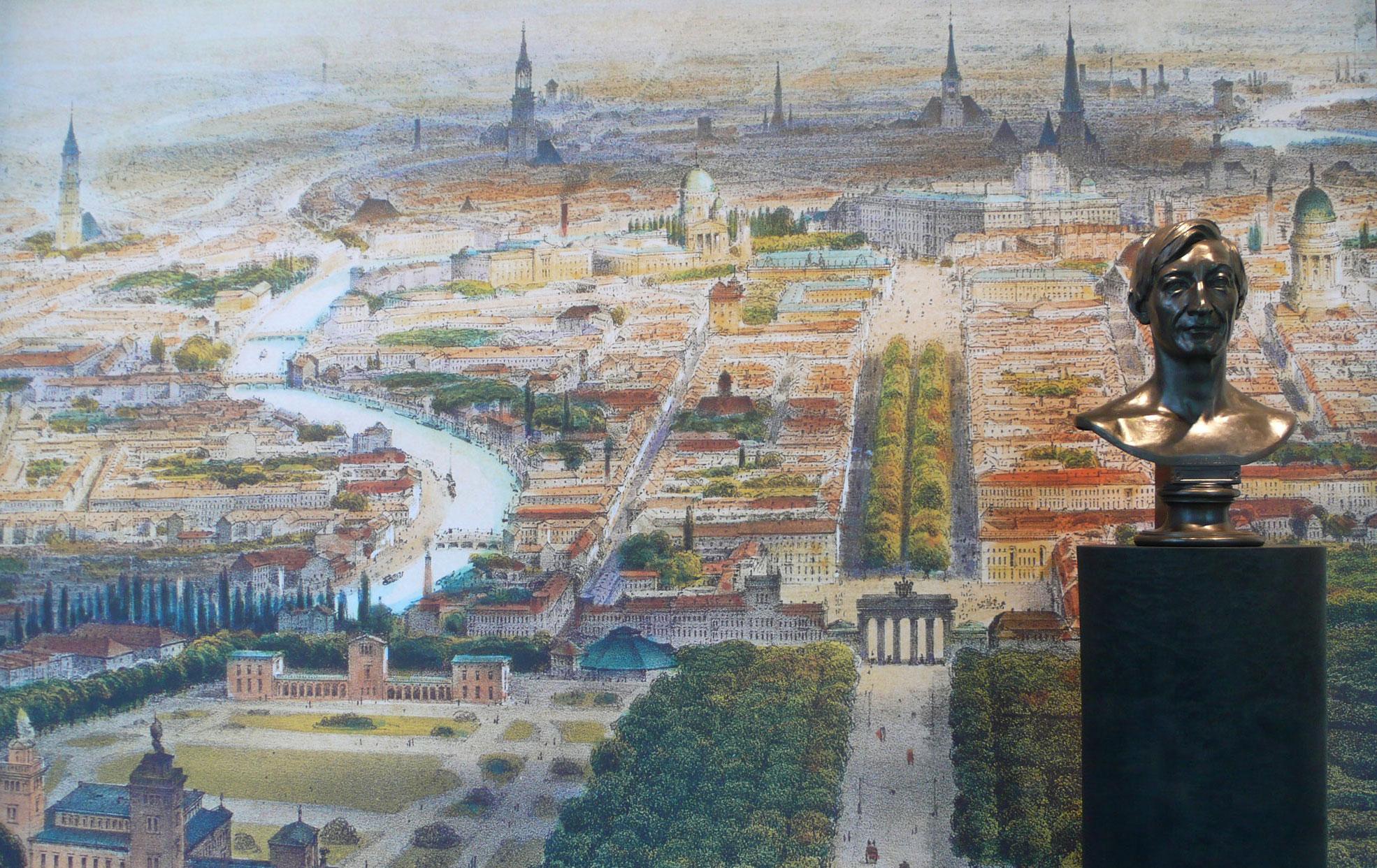 von GROTE Ausstellungsgestaltung und Design / Lenné am Potsdamer Platz