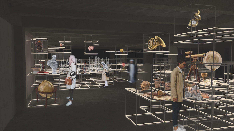 von GROTE Ausstellungsgestaltung und Design / Samii Brain Museum