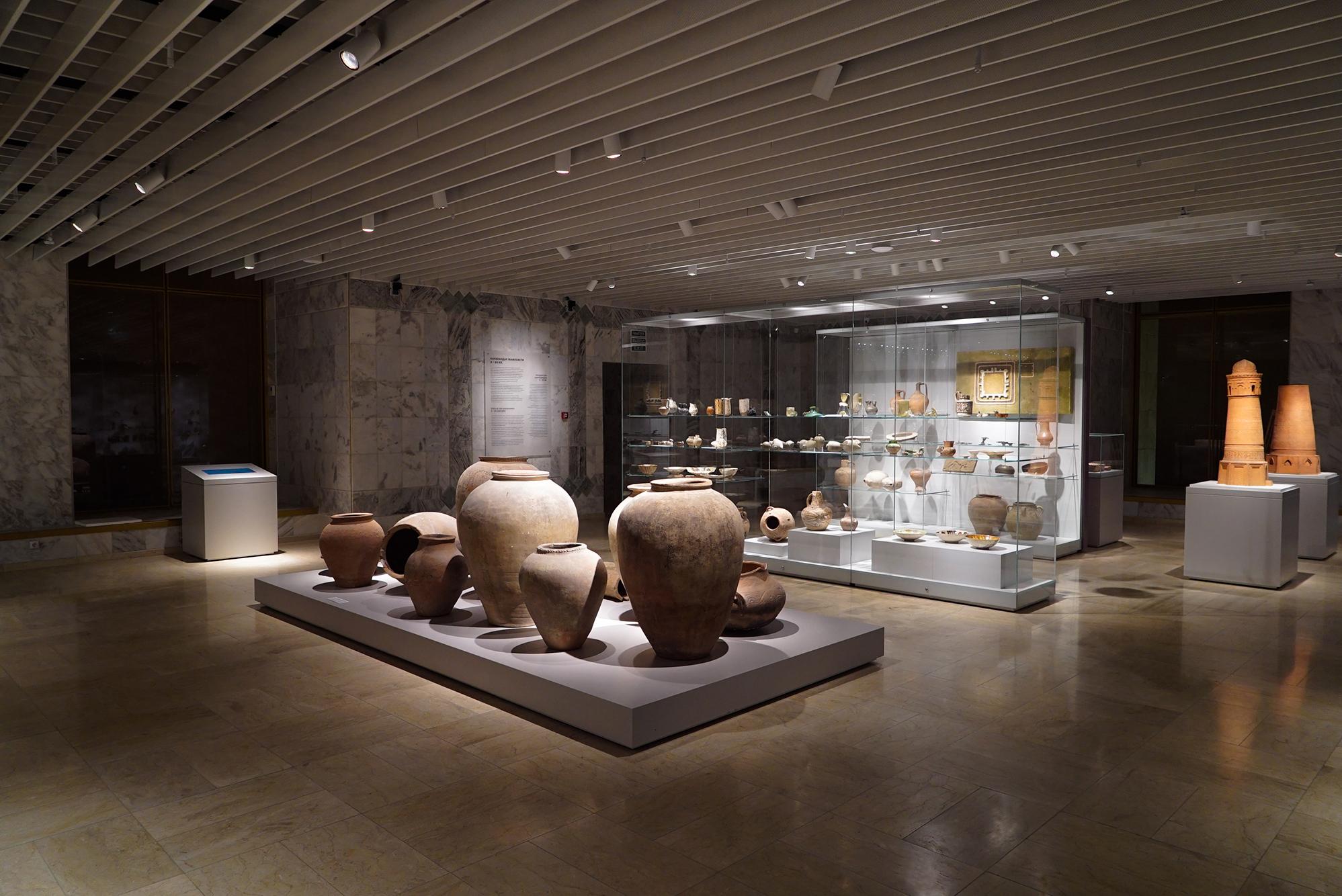 von GROTE Ausstellungsgestaltung und Design / Nationalmuseum der Republik Kirgistan