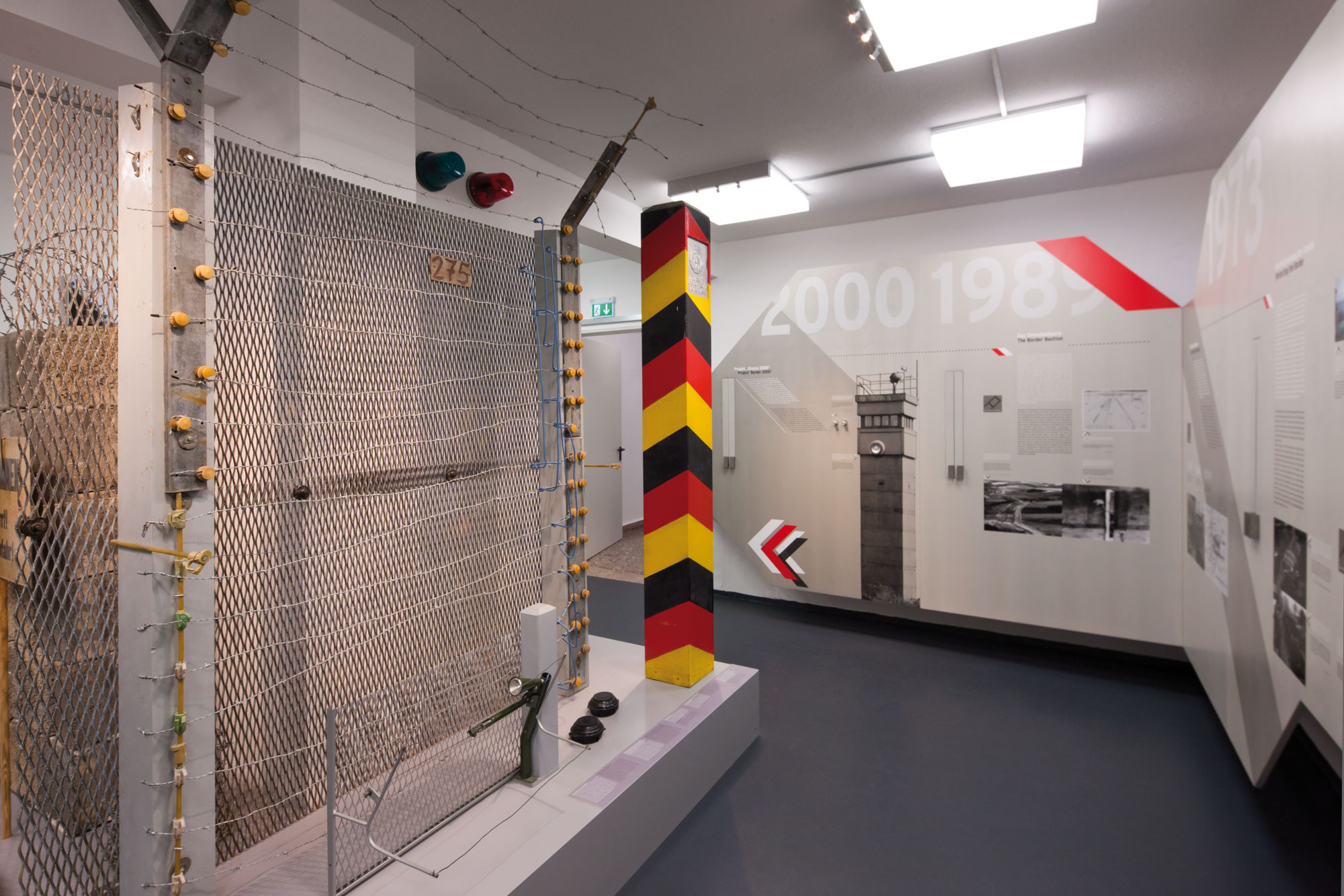 von GROTE Ausstellungsgestaltung und Design / Grenzlandmuseum Eichsfeld