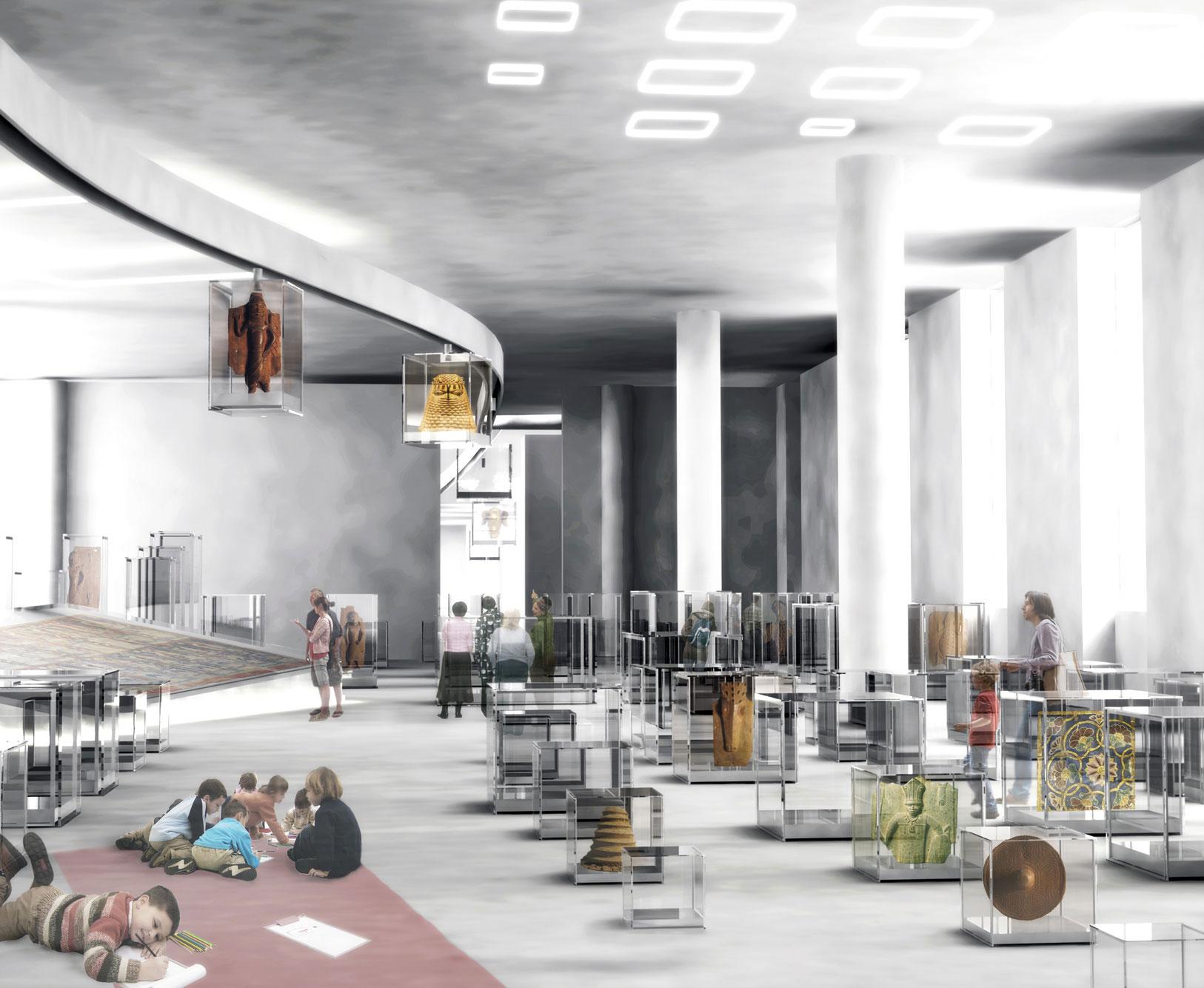 von GROTE Ausstellungsgestaltung und Design / Humboldt Forum