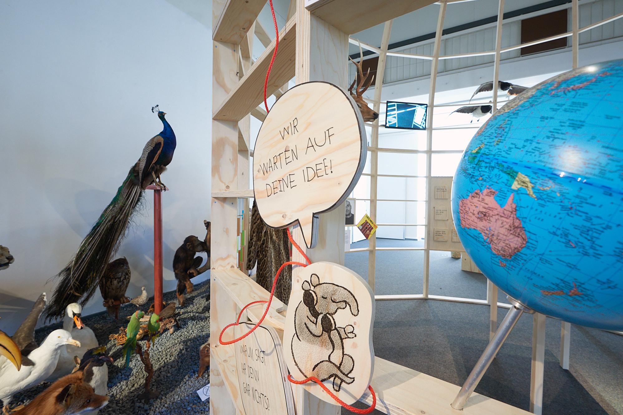 von GROTE Ausstellungsgestaltung und Design / Landesmuseum Natur und Mensch Oldenburg – Erzähl mir vom Tier